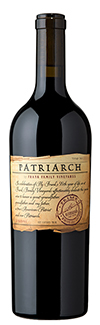 A bottle of Patriarch wine